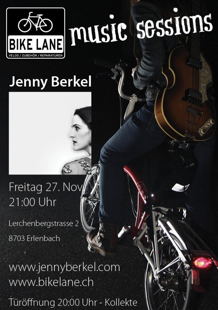 Bike Lane Music Sessions Jenny Berkel